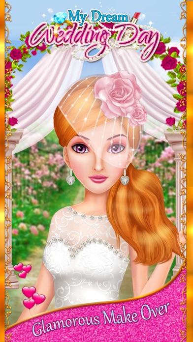 My Dream Wedding Day - Girls Makeup, Makeover & Dressup