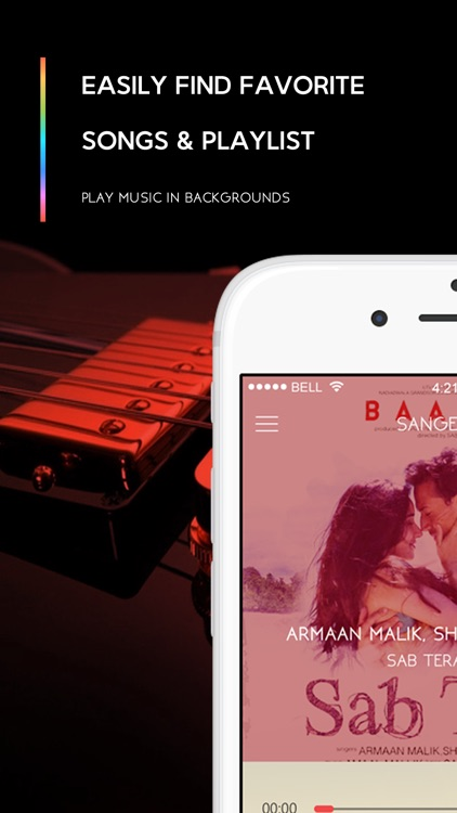Sangeet - Simple Yet Stylish Music Player.