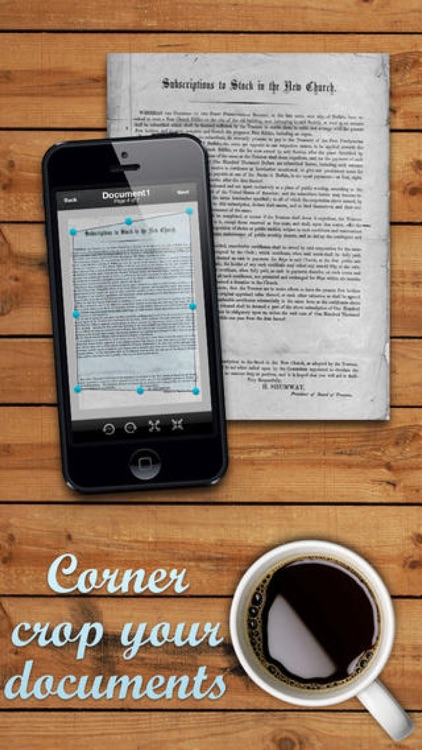 Scan Plus - Multipage Document Scanner screenshot-3