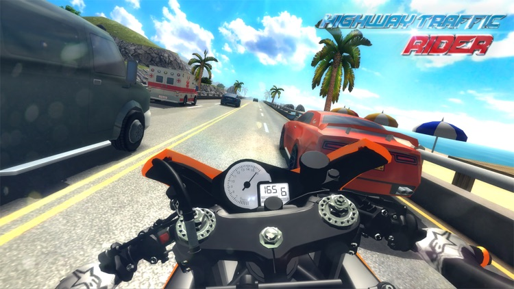 Highway Traffic Rider 3D screenshot-0