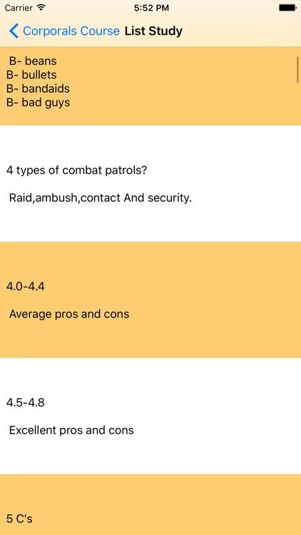 Corporals Course screenshot-3