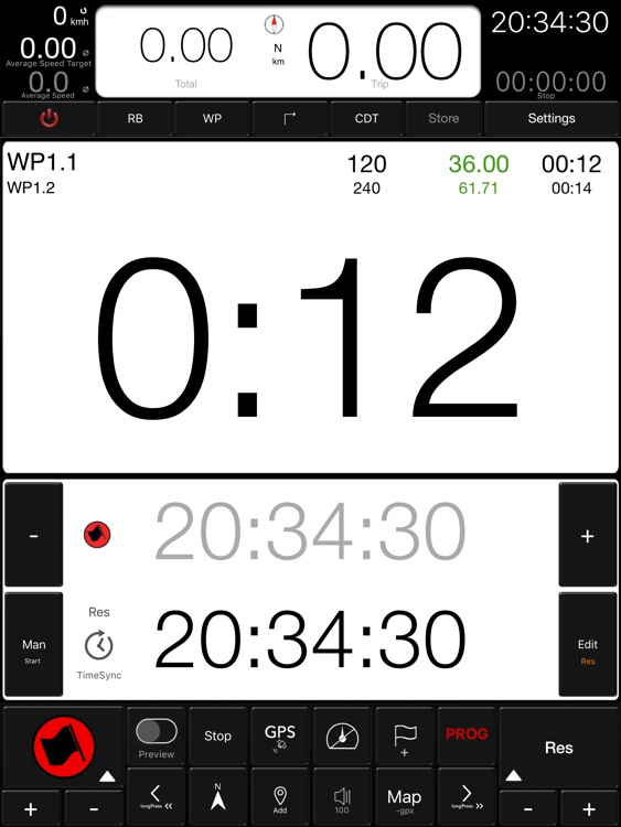 "TWINTIMER for ""iPad"" screenshot-0"