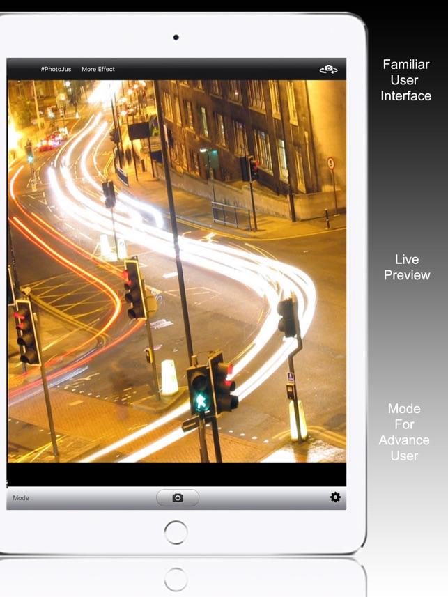 Slow Shutter Camera - motion blur & light trail Screenshot