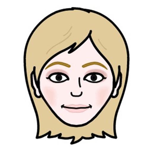 Blondemoji Keyboard - Emojis for cute Blondes
