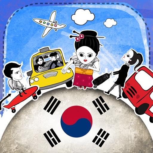 Korean Phrasi - Free Offline Phrasebook with Flashcards, Street Art and Voice of Native Speaker