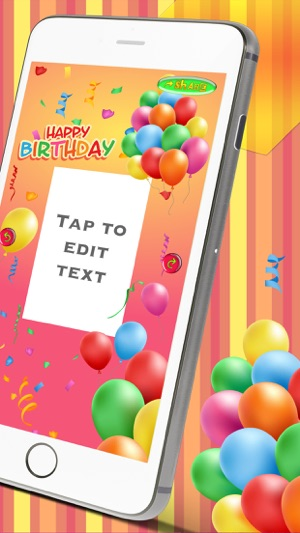 Happy Birthday Card Creator Best Greeting ECards And Invitations Maker For Your Bday Party On The App Store
