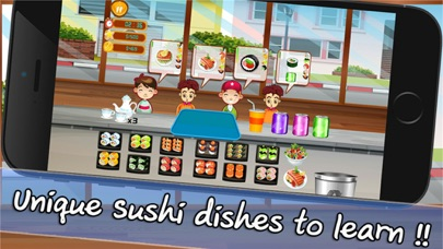 Cooking Chef Bar Sushi Deluxe screenshot two