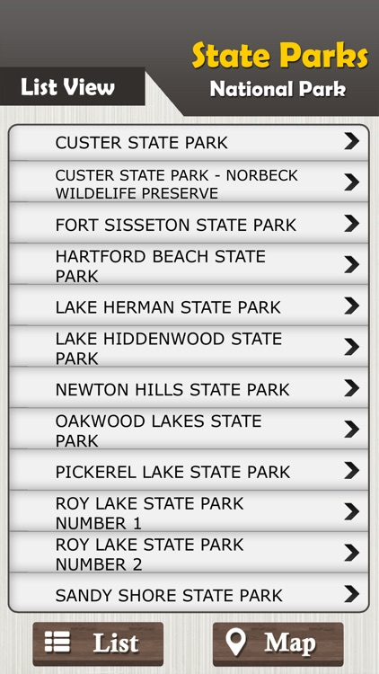 South Dakota State Parks & National Parks screenshot-1