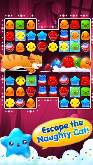 Jelly Blast - 3 match puzzle sweets crush game screenshot two