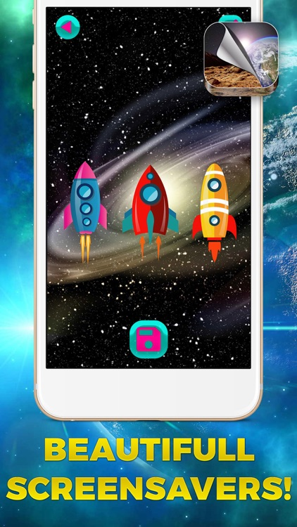 Cool Galaxy Wallpaper Free – Outer Space Themes with Stars and Planets Background.s screenshot-3