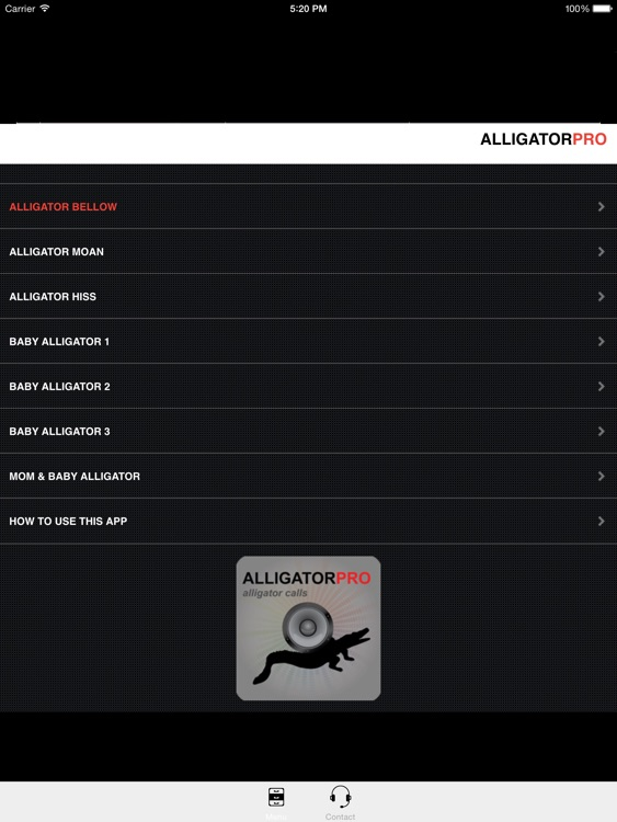 REAL Alligator Calls and Alligator Sounds for Calling Alligators screenshot-1
