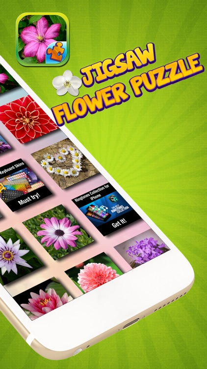 Jigsaw Flower Puzzle – Play Spring Blossom Puzzling Game and Unscramble Floral Pic.s