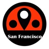 San Francisco travel guide with offline map and California bart subway underground transit by BeetleTrip