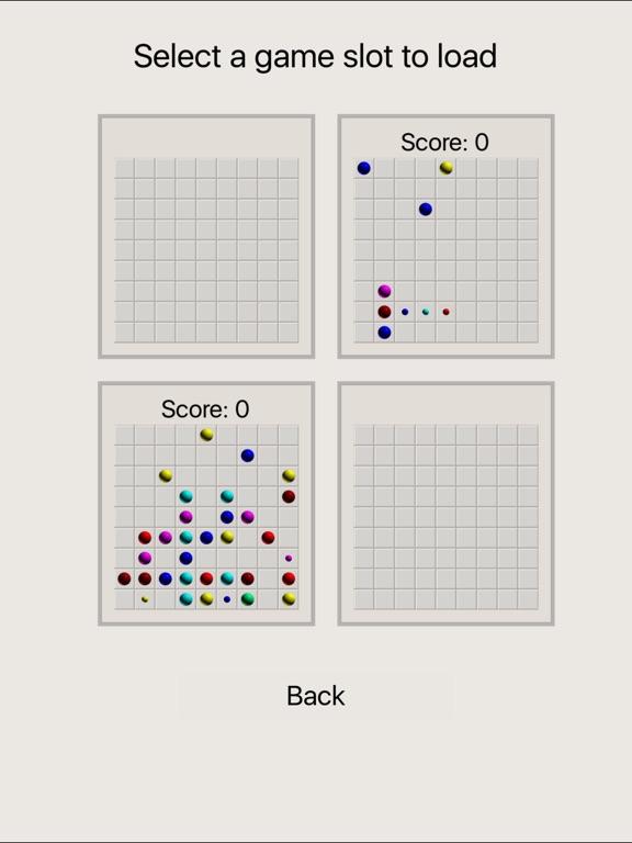 Скачать Line 98 Classic No Ads - линии одинаковых по цвету шариков