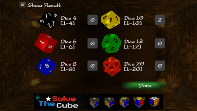 Real RPG Dice Free screenshot three