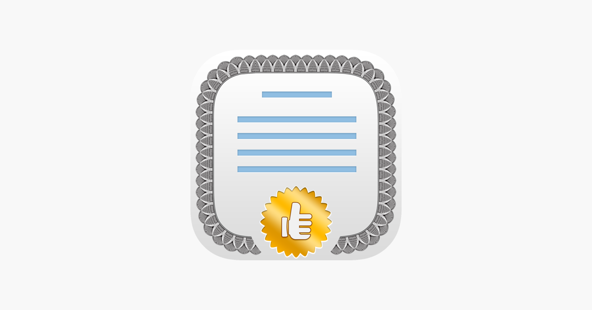 Certificate Maker! on the App Store