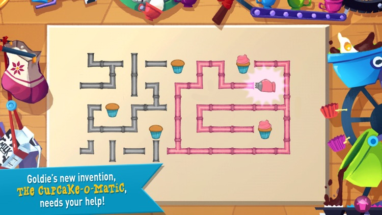 GoldieBlox: Adventures in Coding - The Rocket Cupcake Co. screenshot-4