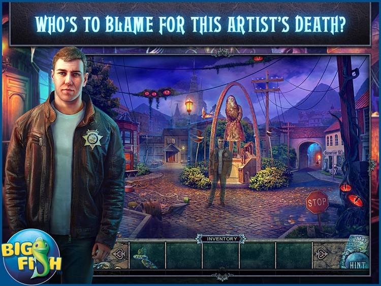 Fear for Sale: City of the Past HD - A Hidden Object Mystery (Full) screenshot-0