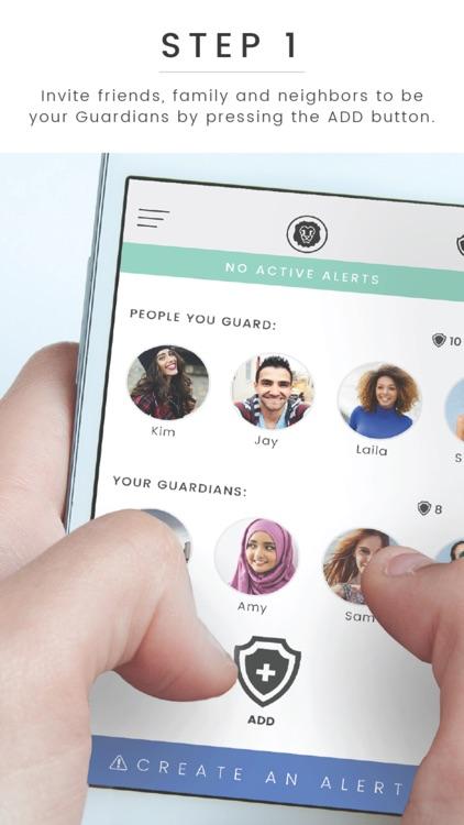 Guardian Circle - Personal Safety Network screenshot-0