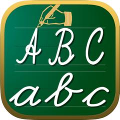 feuilles d'écriture abc 123 jeux éducatifs pour les enfants: apprendre à écrire les lettres de l'alphabet dans le script et cursive