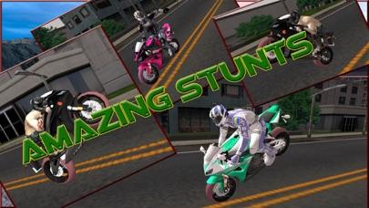 クレイジーモト3D - 本物のバイクのスタントライダーのおすすめ画像1