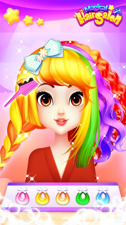 Hair Salon Games: Girls makeup screenshot-3