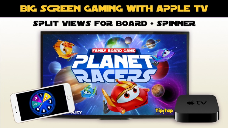 Planet Racers: Family Board Game