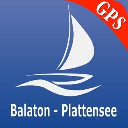 Lake Balaton GPS Nautical charts