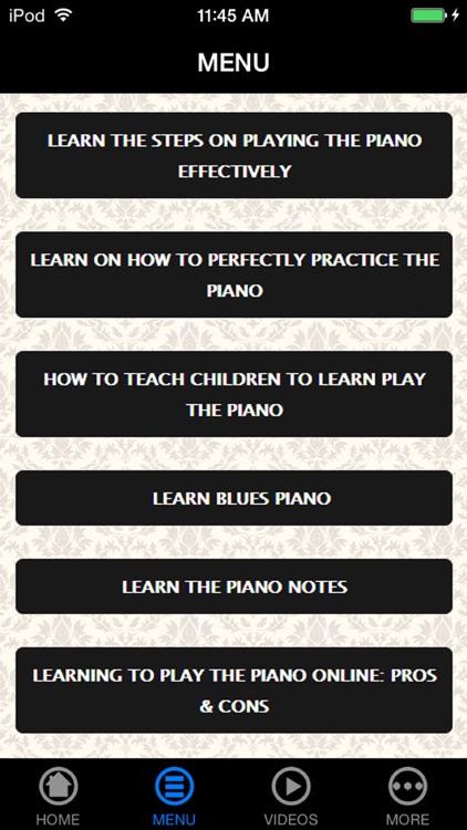 How To Play Piano - Greatest Beginner's Advice & Tips screenshot-3