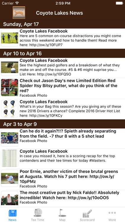 Coyote Lakes Golf Club, AZ