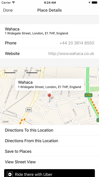 My Maps for Google Maps™ and Uber screenshot-3