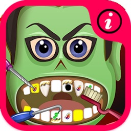 Crazy Ninja Dentist - fun baby kids teeth shave games for boys and girls