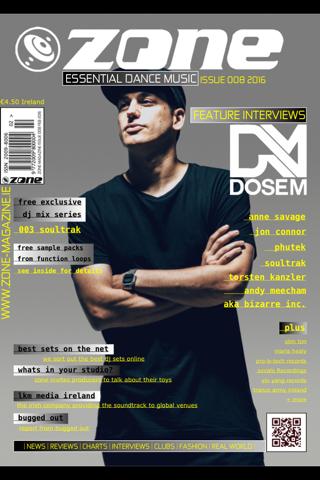 Zone Magazine - náhled