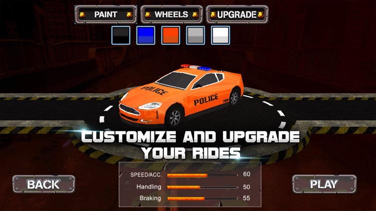 Racing Game : Police Racer screenshot-3