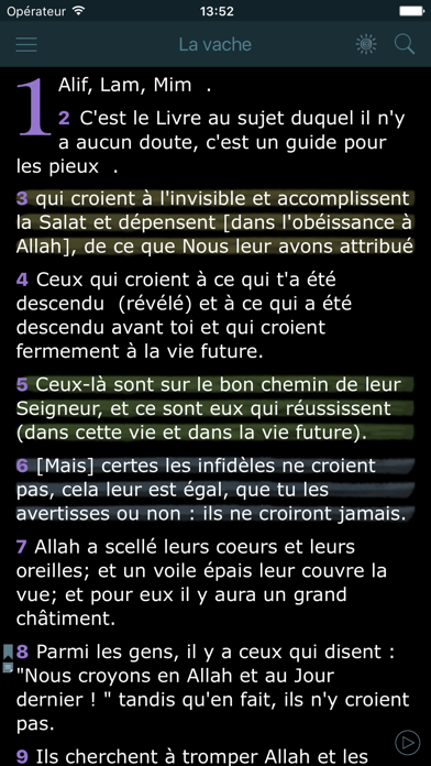 download Ecouter le Coran en Français. Holy Quran in French apps 3