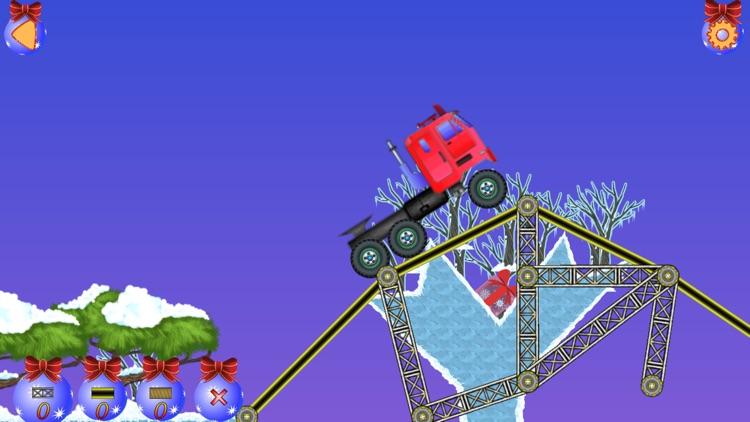 Christmas bridge - Bridge construction simulator screenshot-3