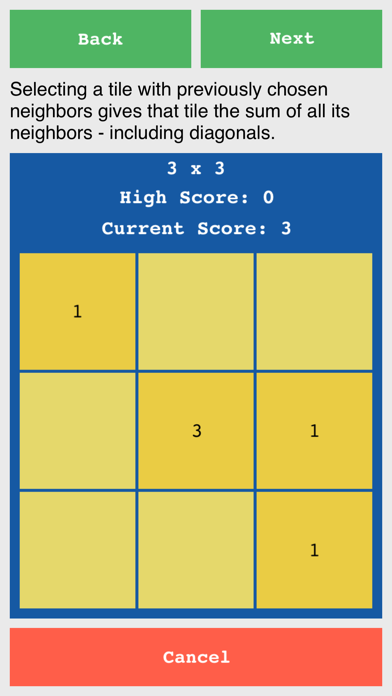 Grid Sums - Simple Number Puzzle screenshot three