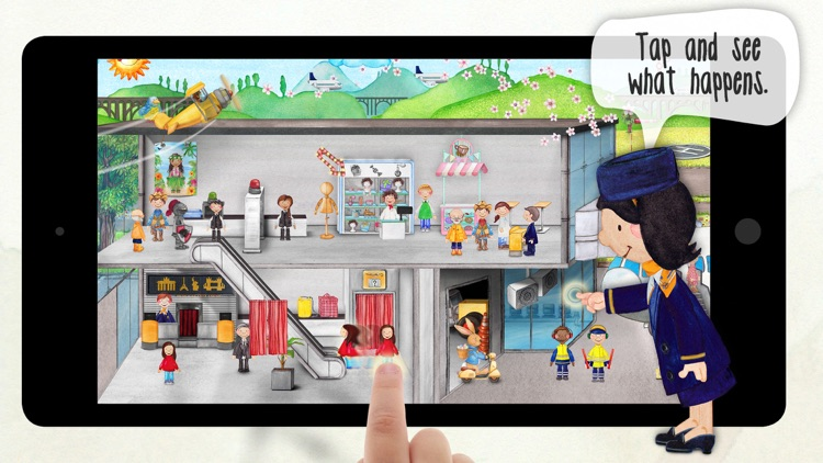 Tiny Airport - Interactive Activity App for Kids