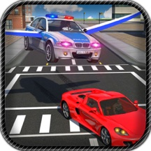 Flying Car Police Chase