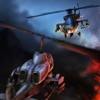 ヘリコプター空襲 - #戦うとフリーゲームを撮影する1軍のヘリコプター