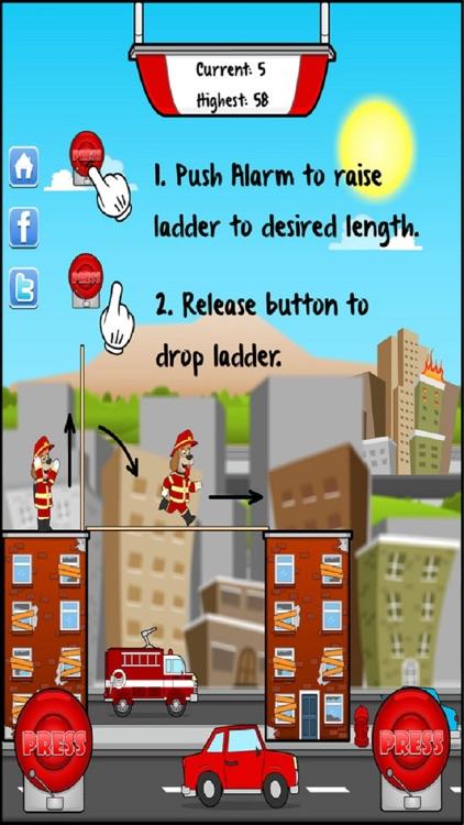 Ladder Mania!™ - Fireman Rescue