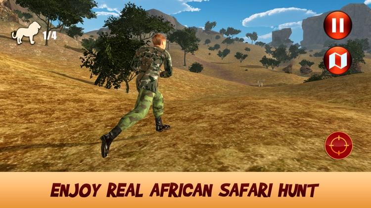 African Safari Hunting Simulator 3D screenshot-3