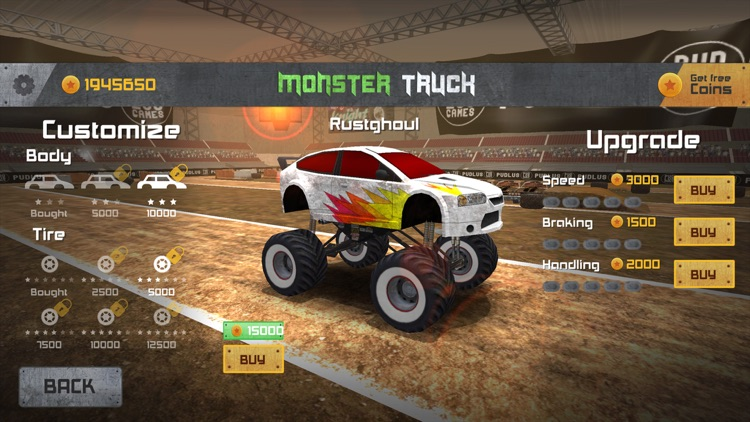 Monster Truck Drag Race by Peter Bazso