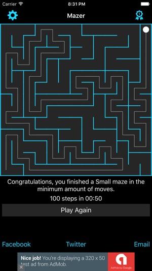 Mazer: Are You Smarter than a Computer? Screenshot