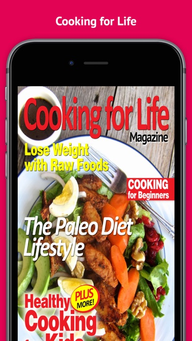 Cooking For Life Magazine - The Best New Cooking Magazine