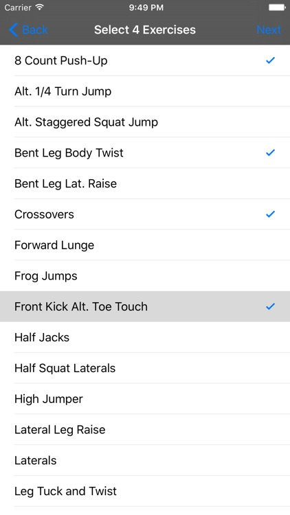 Deck of Cards Workout screenshot-3