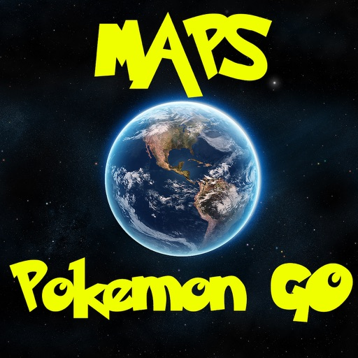 Pokemon GO Maps Pro - A Map Guide for Pokemon GO
