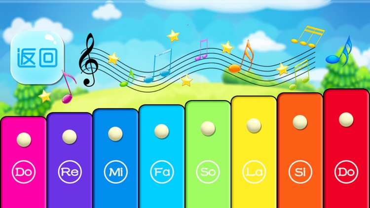 Kids little toy Xylophone - free baby music games screenshot-4