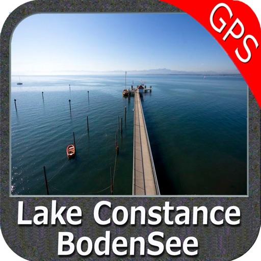 Lake : Constance GPS Map Navigator