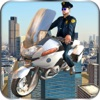 Flying Police Bike Rider 2016 - Ride & Fly Motorcyle in the City To be a Best Traffic police - iPhoneアプリ